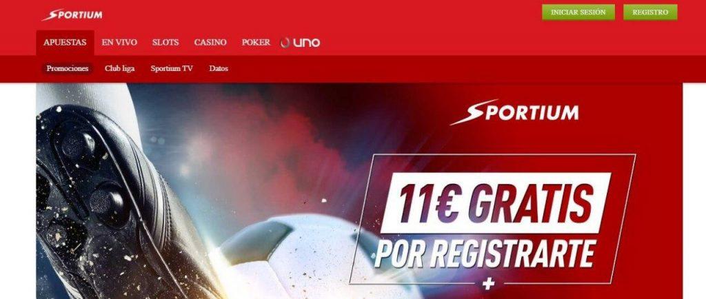 Apostar a La Liga en Sportium
